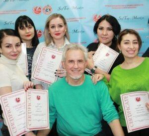 Международная Лига Профессионалов Перманентного Макияжа, официальная сертификация на тренера перманентного макияжа